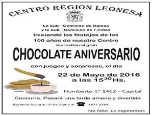 Chocolate Aniversario