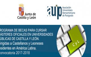 Becas para Másteres Universitarios 2017-2018
