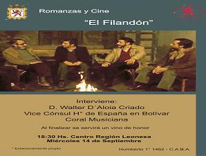 """Romanzas y Cine """"El Filandón"""""""
