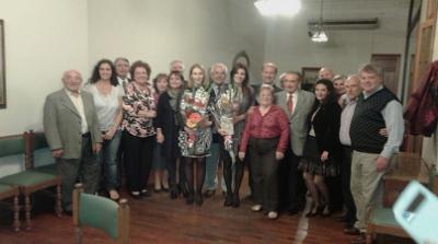 Agasajo a Cónsules Adjuntas, Dña. Silvia Cosano Nuño y Dña. María Prada González