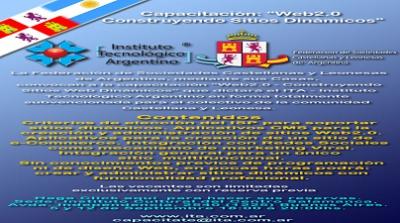 Capacitacion WEB 2.0 - Construyendo Sitios Dinamicos