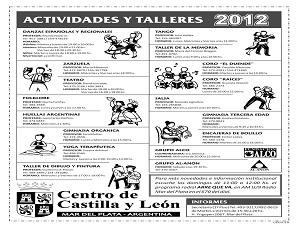 Cursos y Actividades 2012