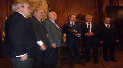 D. Herrero Mendoza, Acto Homenaje en la Legislatura de la Ciudad