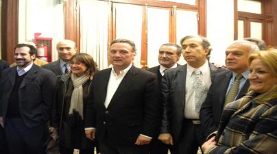 Visita de D. Alfredo Prada Presa, Director Partido Popular en el Exterior