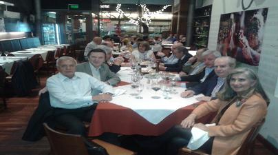 Visita de D. Félix Colsa, representante de Fundación Villalar