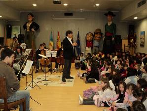Visita de la Orquesta Estudio del Bachillerato de Bellas Artes de la Univ. Nacional de la Plata