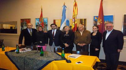 Visita del Director de Orquesta, D. Ernesto Monsalve Alvarez