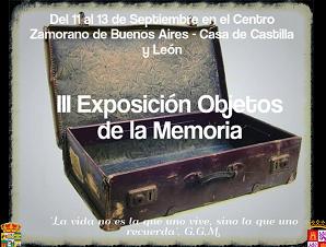 """Exposición """"Objetos de la Memoria"""""""