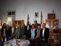 Visita del Consul Gral de España, D. Carlos Tercero Castro