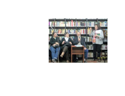 28/09 Cafe Literario con las Colectividades