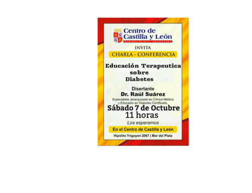 07/10 Conferencia Ed. Terapeútica sobre diabetes