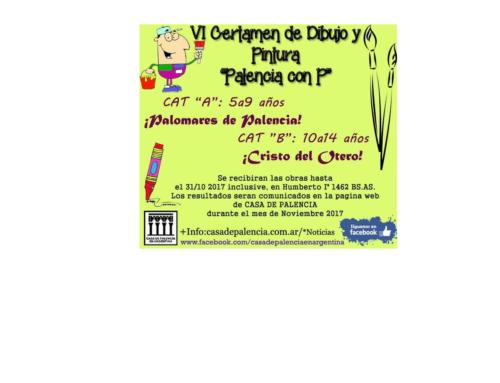 """IV Certamen de Dibujo y Pintura """"Palencia con P"""" 2017"""