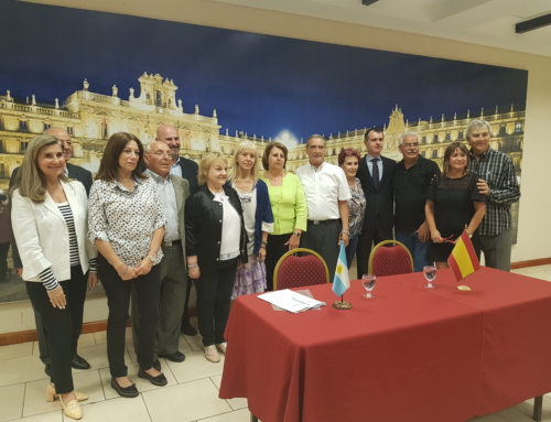 Visita del Secretario Gral. de JCYL, D. José M. Herrero Mendoza