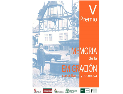 V Premio Memoria de la Emigración Castellana y Leonesa 2018