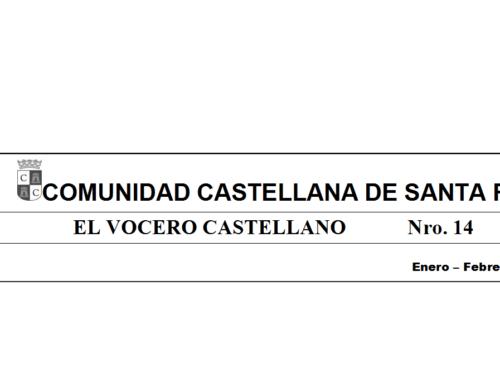 Vocero Castellano N° 14 -Ene, Feb, Marz 2018-