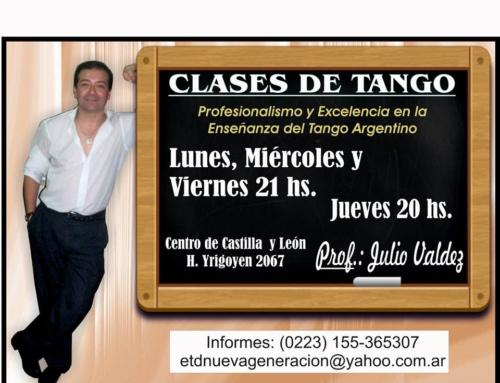 Clases de Tango 2018