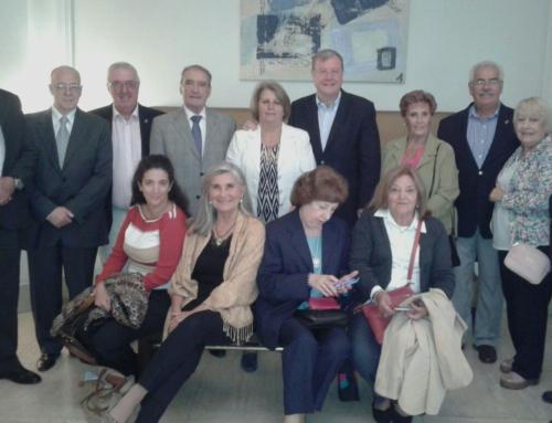Visita del Alcalde de León, D. Antonio Silvan