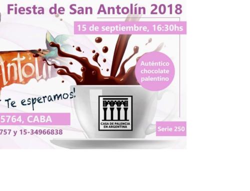 15 de Sept 2018: Fiesta de San Antolìn