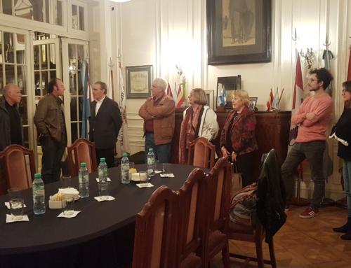 Visita del músico vallisoletano, D. José Luis Gutierrez