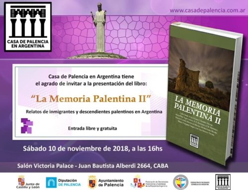 10 de Nov 2018: Presentación Memoria Palentina II
