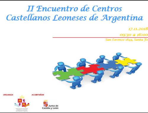 II Encuentro de Centros Castellanos Leoneses de Argentina