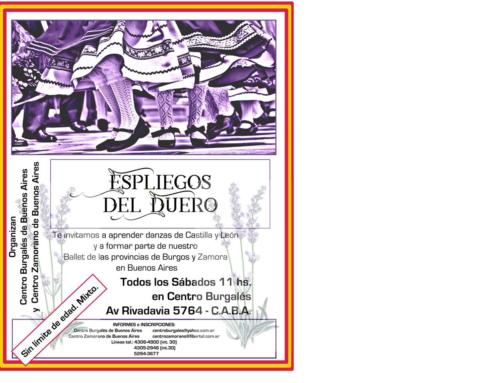 """Clases Danzas """"Espliegos del Duero"""" 2019"""