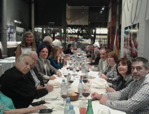 Cena agasajo a Consejero de Trabajo, D. José Castro Navas