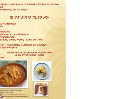 21 de Julio 2019: Festejo Dìa del amigo