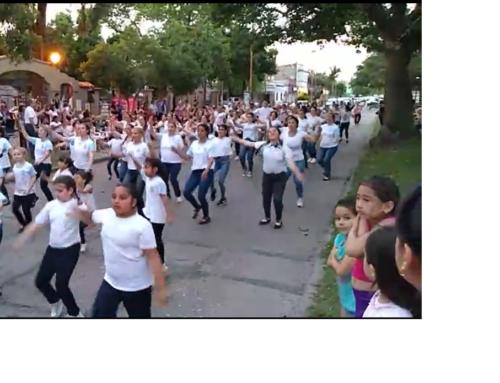 Participación en 100 años de C. Gallego de Santa Fe