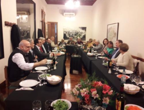 Cena Bienvenida a nuevo Cónsul Adjunto