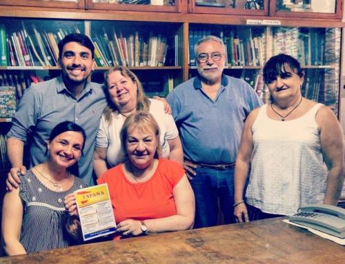 Encuentro Fedespa y Mesa Coordinadora de Entidades Españolas de Santa Fe