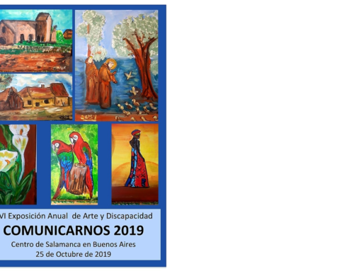 25 de Octubre 2019: XVI Muestra de Arte y Discapacidad
