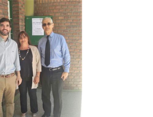 9 de Dic 2019: Visita del Consul Gral de Rosario