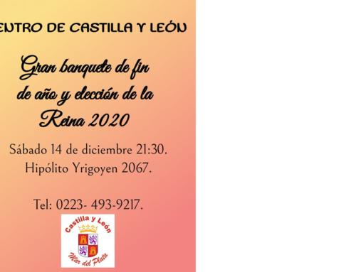 14 de Dic 2019: Fiesta Fin de Año. Elección de la Reina