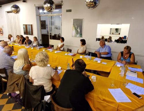 Primera reunión Comisión Directiva 2020