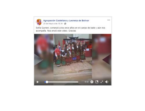 Agrupación CyL Bolívar: Sofía Guerrieri, joven del Centro