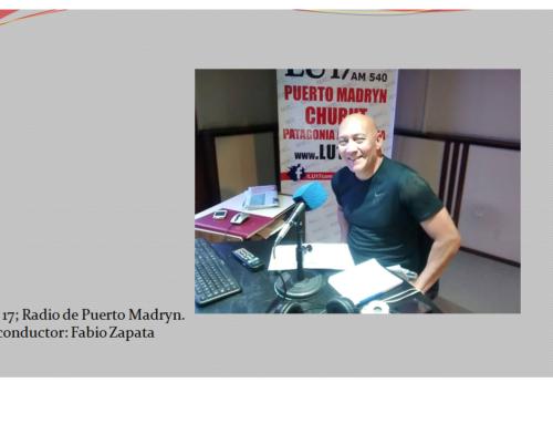 Entrevista Radial a la Presidente Dña. Emilce Arroyo Pastor. Pto. Madryn
