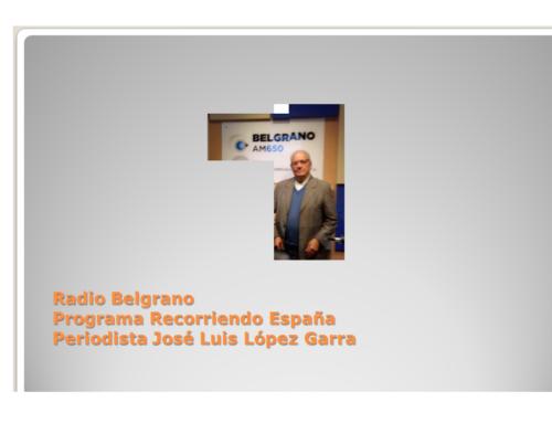 Entrevista radial a Presidente C. Región Leonesa, Dña. Agustina Berlanga. Radio Belgrano