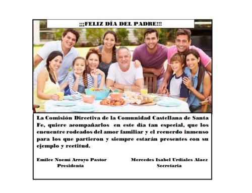Comunidad Cast Santa Fe: Feliz Día del Padre!