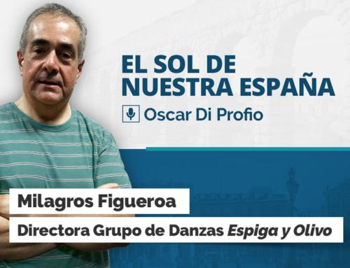 Entrevista radial – Milagros Figueroa – Oscar Di Profio