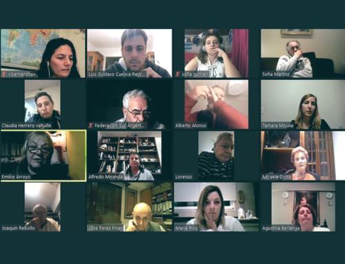 Reunión virtual Comisión Directiva