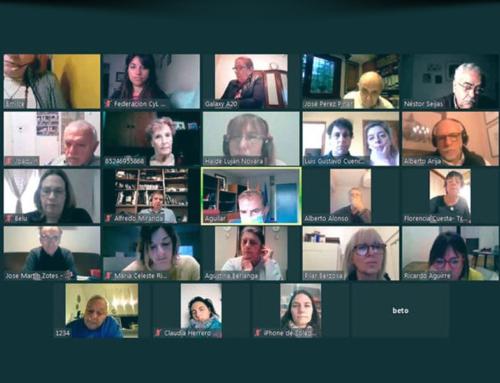 Reunión virtual Entidades Federación