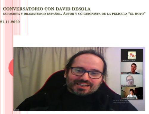 21 de Nov 2020: Conversatorio con David Desola