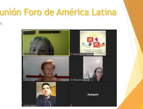 Foro de América Latina. Reunión 20.01.2021
