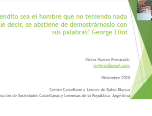 Victor Ferracutti: Testimonio de un Becario en Valladolid