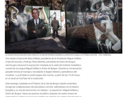 La muestra Miguel Delibes y Diario de Burgos echa al cierre