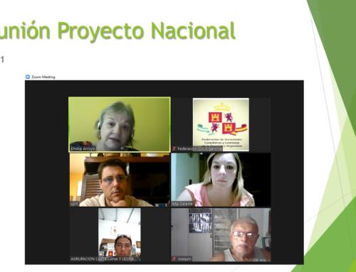 09 de marzo 2021: Reunión Proyecto Nacional
