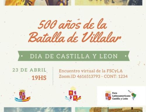 Foro Latinoamericano de CyL: Semana de Castilla y León. 23/04 Argentina