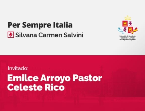 Per Sempre Italia – con Emilce Arroyo Pastor y Celeste Rico