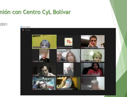 Reunión con el Centro CyL Bolívar